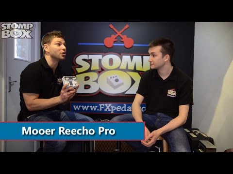 Mooer Audio Reecho Pro Digital Delay Pedal