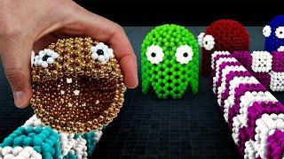 Pacman VS Monster Magnet   Lokman & Magnetic Games