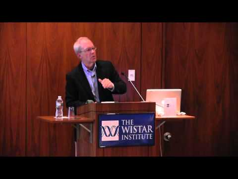 George Johnson at the Wistar Institute
