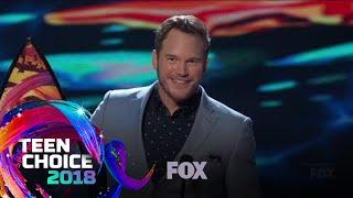 Chris Pratt & Bryce Dallas Howard Win Choice Summer Movie Actors | TEEN CHOICE