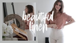 Beautiful Summer Linen Shirts – Artisan & Ethical Clothing with Rachael Harrah | Dearly Bethany