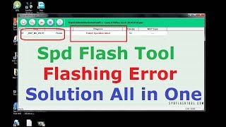 how to make spd pac file and flash tools support
