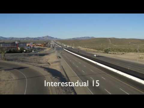 Viagem de caminhão Los Angeles a Las Vegas Caminhao nos Estados Unidos