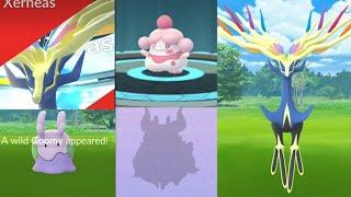 Luminous Legends X - Xerneas w/ new trick evolution Slurpuff, Aromatisse