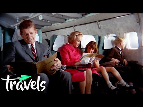 Прескапи билети, одлична храна – како изгледало летањето со авион во '60-тите?