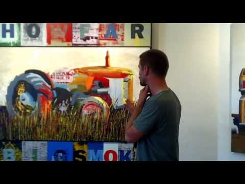 "Darren Doye ""Melbourne Reflections"" - preview of artists talk."