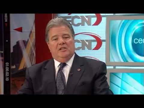 NECN CEO Corner Robert Caret MGHPCC 1.13.2013