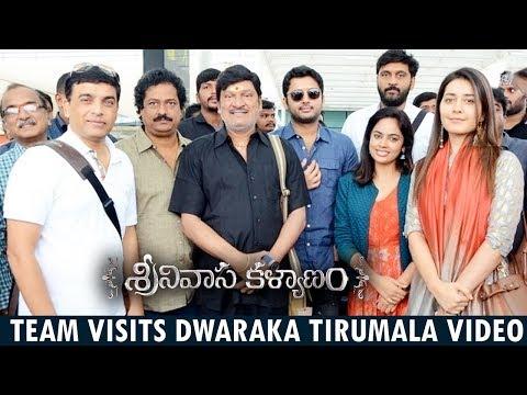 Srinivasa Kalyanam Movie Team Visits Tirumala