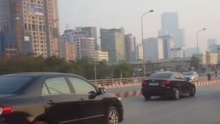 Hanoi Street view - đường phố Hà Nội - Vietnam Skyline