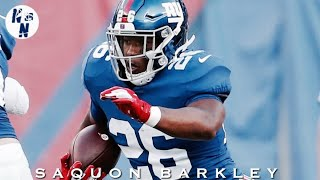 Saquon Barkley NFL Preseason Week 1 Highlights  ᴴᴰ