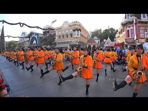 Kyoto Tachibana SHS Band - Disneyland(Anaheim) 2017 京都橘高校吹奏楽部