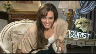 Angelina Jolie and Johnny Depp Interview (and Dance!) in Paris for THE TOURIST