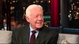 Jimmy Carter Letterman 2014 0324 HQ
