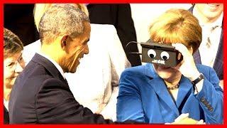 LIVE: Barack Obama and German Chancellor Merkel Kirchentag Speech Germany's 'Kirchentag' in Berlin