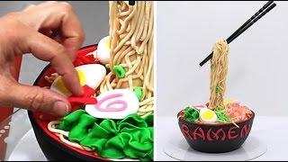 ANTI GRAVITY Ramen Cake - How To Make *Torta Antigravedad