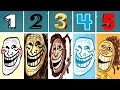World of Trollface Quest 1, 2, 3, 4, 5 [Walkthrough 2016] | Let's Play | IULITM