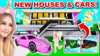 *NEW* HOUSES And CARS UPDATE In Brookhaven! (Roblox)