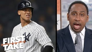 Stephen A. rips Aaron Judge, Luis Severino in Yankees' blowout loss to Red Sox   First Take