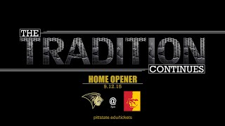 '2015 Football Teaser (home opener) - Pittsburg State University