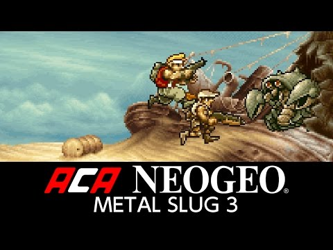 ACA NEOGEO METAL SLUG 3 Trailer