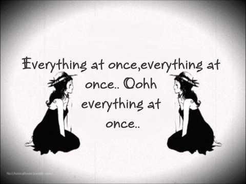 Everything at Once - Lenka [Lyrics]