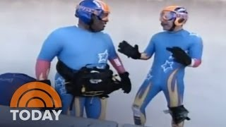 Matt Lauer And Al Roker Luge Together | Archives | TODAY