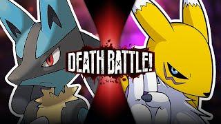 Lucario VS Renamon (Pokémon VS Digimon) | DEATH BATTLE!