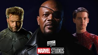 Alternate IRON MAN Post-Credits Scene Has A SPIDER-MAN And X-MEN Reference From Nick Fury | MCU NEWS