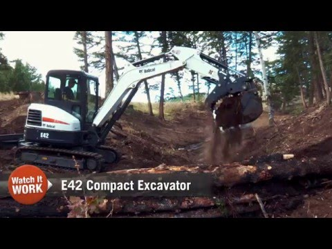 Watch It Work: Bobcat E42 Compact Excavator
