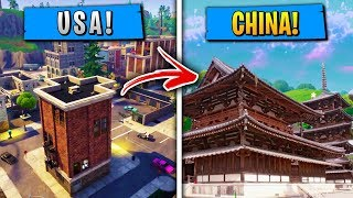 Top 5 Things in Fortnite THAT ARE DIFFERENT IN CHINA!