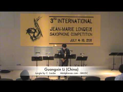 3rd JMLISC: Guangxin Li (China) Jungle by C. Lauba