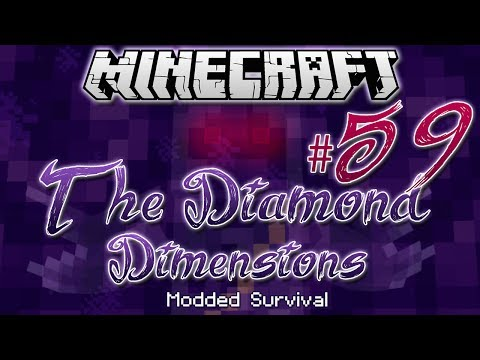 """ONE HOUR SPECIAL!""   Diamond Dimensions Modded Survival #59   Minecraft - Smashpipe Games"