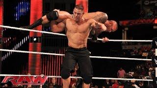 John Cena vs. Randy Orton: Raw, Sept. 22, 2014