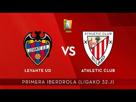 🎧 AUDIO LIVE | Levante UD vs Athletic Club | Primera Iberdrola 2020-21 I J 32. jardunaldia