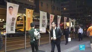 À Hong Kong, de jeunes manifestants prodémocratie candidats aux élections locales