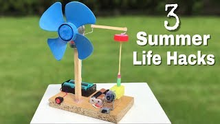 3 incredible ideas and Life Hacks for Summer
