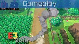 Pokémon: Let's Go, Pikachu! - E3 2018 Gameplay [HD]
