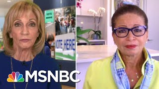 Trump 'Is Fueling Anxiety About The Integrity Of Our Election'   Andrea Mitchell   MSNBC