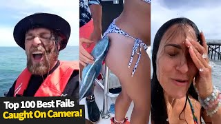 Top 100 Best Fails Caught On Camera | Best Fails Of The Year Compilation.