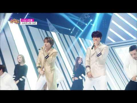 【TVPP】Super Junior D&E - Growing Pains, 슈퍼주니어 디엔이 - 너는 나만큼 @Show Music Core