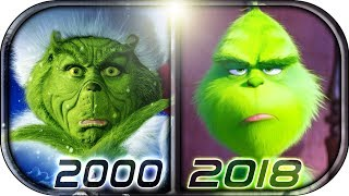 EVOLUTION of GRINCH in Movies Cartoons & TV (1966-2018) The Grinch full movie scene 2018 Christmas