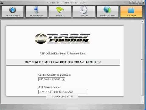 advance turbo flasher setup 7.90
