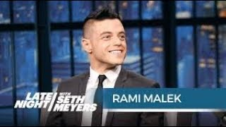 Rami Malek speaking Arabic is adorable😂 رامي مالك  أفضل ممثل في هوليوود بيتكلم عربي