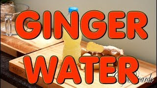 How To Make Best Ginger Water   Recipes By Chef Ricardo