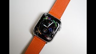 苹果最新款Apple Watch 4体验:一摔就碎