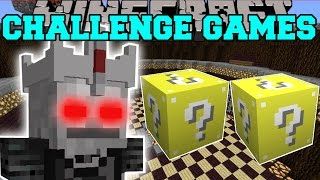 Minecraft: SKELETON LORD CHALLENGE GAMES - Lucky Block Mod - Modded Mini-Game