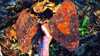 Restoration the axe old| Restore metal castings ax| Antique construction tools wood restoration