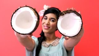 How to Open a Coconut and Remove the Meat