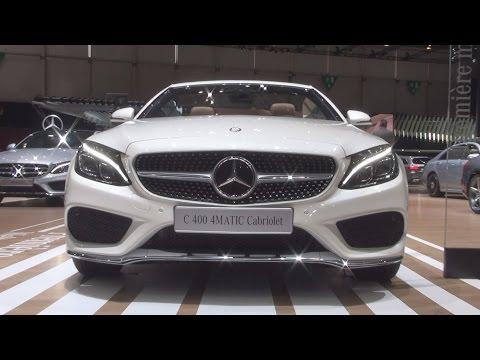 Mercedes-Benz C 400 4MATIC Cabriolet (2016) Exterior and Interior in 3D
