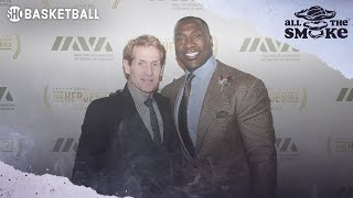 Shannon Sharpe Describes Working With Skip Bayless | ALL THE SMOKE